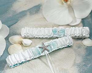 """Seaside Allure Garter Set """